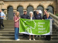 Barnhill Rock Garden Green Flag 2012