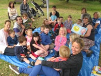 Storytelling at the Barnhill Rock Garden 2014