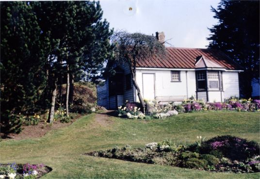 former clubhouse of Broughty Ferry ladies golf club